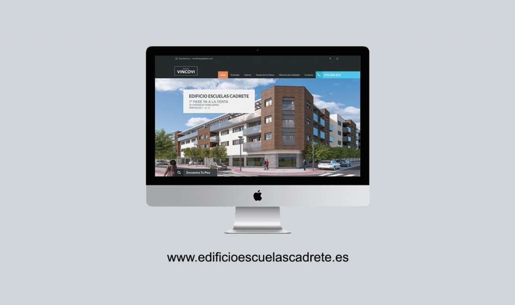 edificio escuelas cadrete web amgcreativo